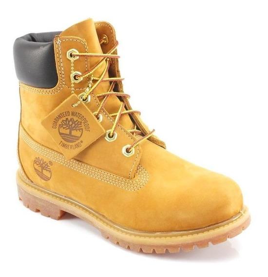 Bota Infantil Timberland Yellow Boot Original C/ Nota Fiscal