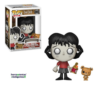 Willow And Bernie Funko Pop Don´t Starve Videojuego