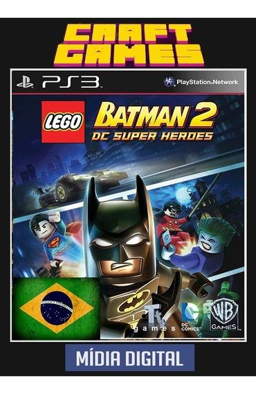 Lego Batman 2 Português Ps3 Psn Envio Imediato