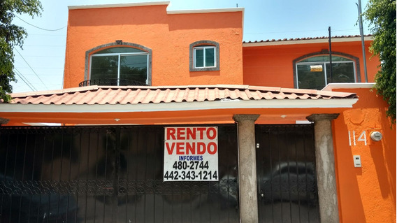 Vendo Casa Queretaro Fracc.vista Hermosa Centrica Y Amplia