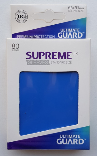 Ultimate Guard Supreme Ux Micas Standard Size Royal Azul Rey
