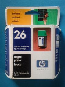 Cartucho Hp 26 Negro (vencido)