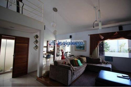 Casa À Venda, 277 M² Por R$ 990.000,00 - Condomínio Bela Manhã - Londrina/pr - Ca0811