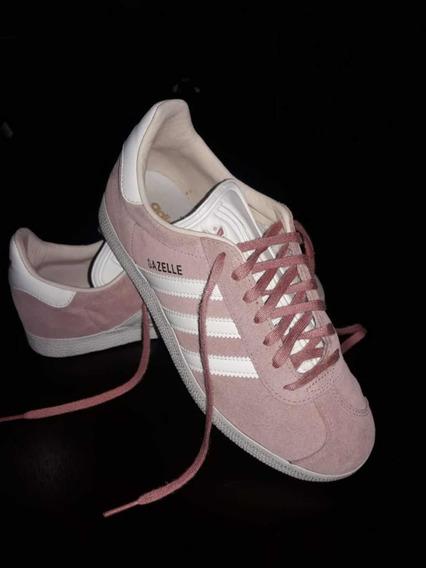 Zapatillas adidas Originales Gazelle ! Igual A Nuevas! Rosas