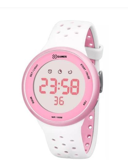 Relógio X-games Feminino Digital Fitness Xfppd017