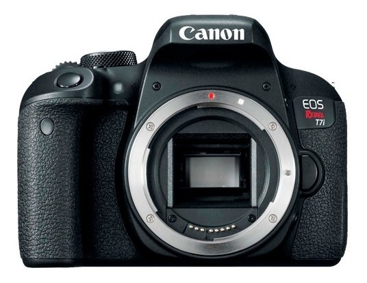 Câmera Canon Rebel T7i Somente Corpo + Nf E Garantia 1 Ano