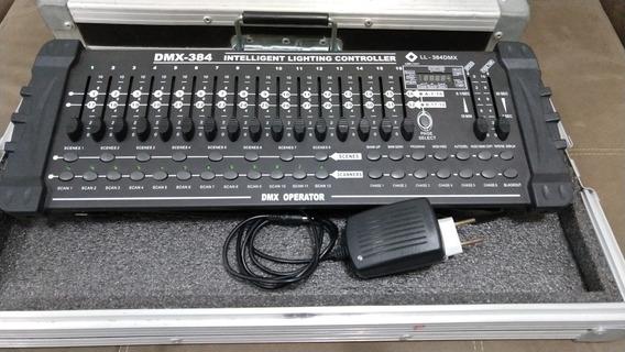 Mesa Iluminação Dmx Operator 384 C/ Case (estado De Nova)