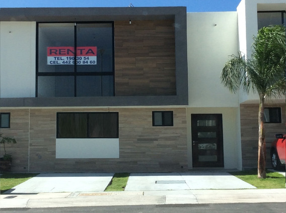 Casa Renta El Refugio Priv Alberca Gym 2 Rec 3 Baños Factura