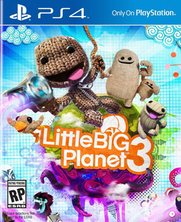 Little Big Planet 3 Ps4 Digital Español Gcp