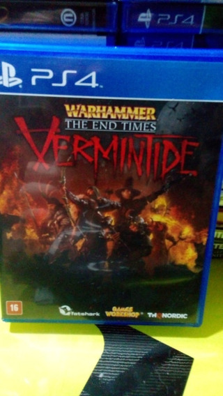 Jogo Ps4 Warhammer The End Times Vermintide Midia Fisica