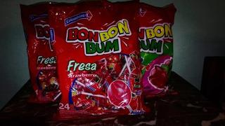 Chupetas Bon Bon Bum Original Colombiana