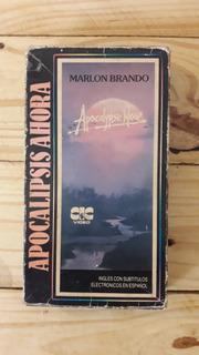 Apocalypse Now Vhs Argentina Marlon Brando Francis Coppola