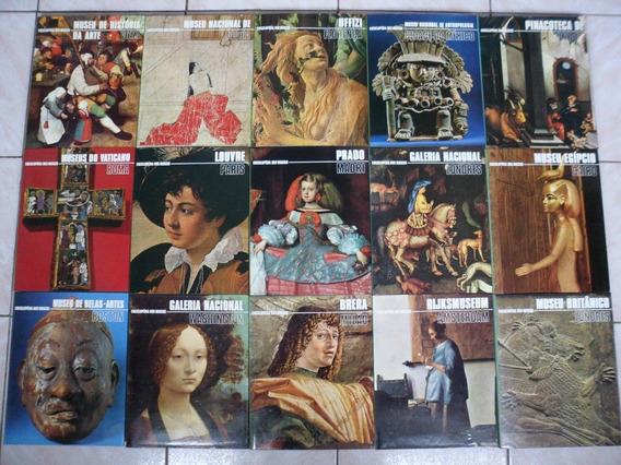 Enciclopédia Museus Coleção Completa 15 Volumes Mirador