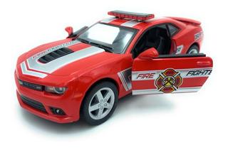 Chevrolet Camaro Bomberos 2014 1/38 Rojo