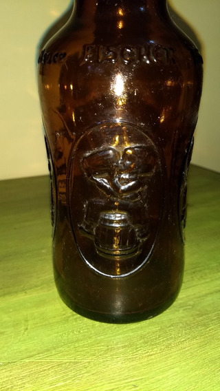 Antigua Botella De Cerveza Fischer, Francesa