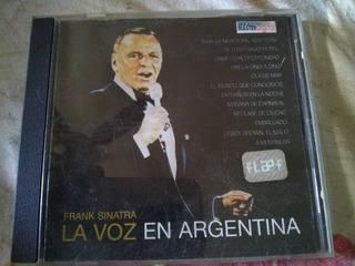 Frank Sinatra Cd La Voz En Argentina Original