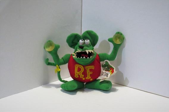 Rat Fink Boneco De Tecido Produto Original Ed Roth, Vermelho