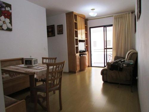 Apartamento Com 3 Dormitórios À Venda, 76 M² Por R$ 379.000 - Jardim Santa Cruz (sacomã) - São Paulo/sp - Ap0262 - 67722317