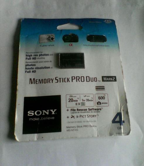 Remate Memoria Stick Pro Duo 4 Gb