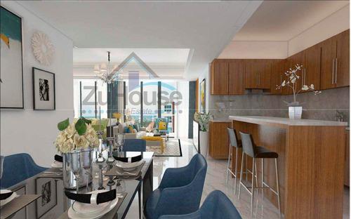 Imagen 1 de 7 de Apartamento En Venta En Exclusiva Torre En Santiago Wpa106 B