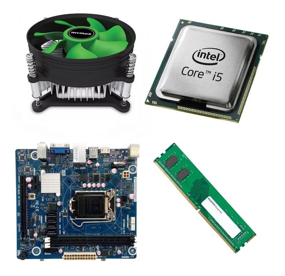 Kit Placa Mãe Ipmh110 Pro + Processador I5 6400 2.7ghz + 4gb Ram Ddr4