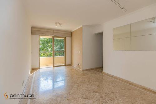 Ótimo Apartamento Com 3 Dormitórios À Venda, 68 M²  - Vila Isa - São Paulo/sp - Ap0977