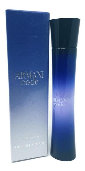 Perfume Armani Code Feminino Edp. 75ml. 100% Original.