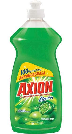 Lavaplatos Liquido Axion Limon 400 Cc 3 Und