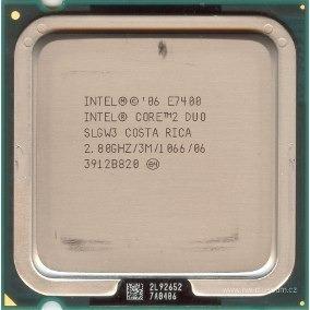 Processador Intel Core 2 Duo E7400 2.80ghz Fsb 1066 Lga 775