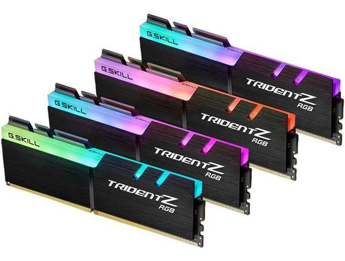 Imagem 1 de 4 de Memoria G.skill Tridentz Rgb Series 128gb (4x32gb)4000mhz