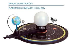 Planetário Escolar Iluminado Bivolt 110v 220v