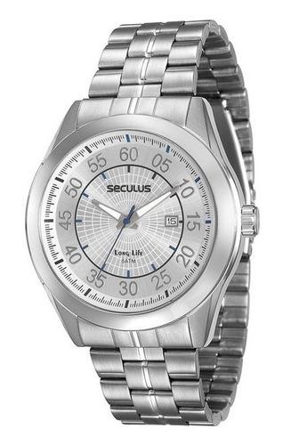 Relógio Seculus Masculino Analógico 20337g0svna2 Barato