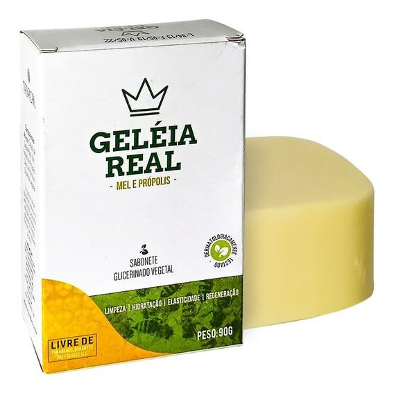 12 Sabonete Geléia Real Tropical Em Barra Original
