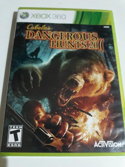 Dangerous Hunts 2011 Xbox 360 Mídia Física