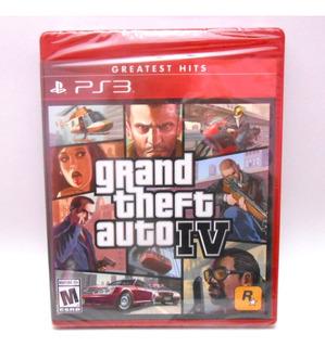 Grand Theft Auto 4 Ps3 Playstation3 Juego Fisico Nuevo