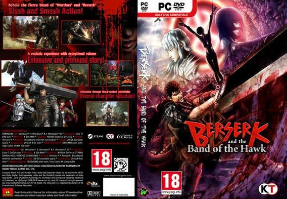Berserk And The Band Of The Hawk - Pc Dvd