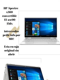 Notebook Hp Spectre X360 Convertible 13-aw00 13dx