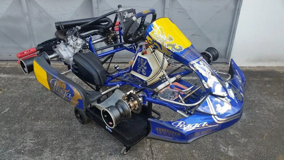 Kart Praga Dragon Motor Rotax Dd2 2016 - Tony Crg Birel Mini