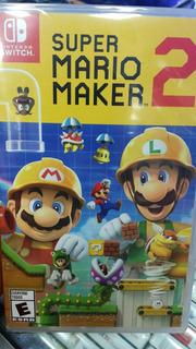 Super Mario Maker 2 Para Nintendo Switch.