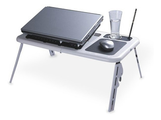 Mesa Plegable Para Notebook Y Netbook Con Fan Cooler Oferta