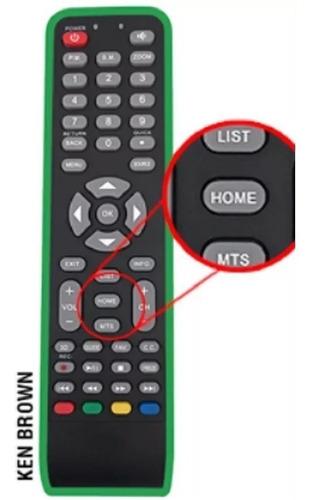 Imagen 1 de 2 de Control Remoto Kb32s2000sa Smart Tv Ken Brown Con Tecla Home
