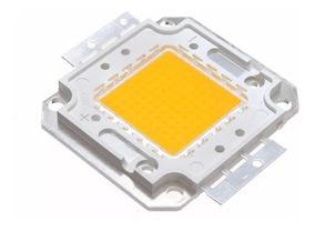 Chip Led 50w Para Refletor Luz Amarela Ou Luz Branca