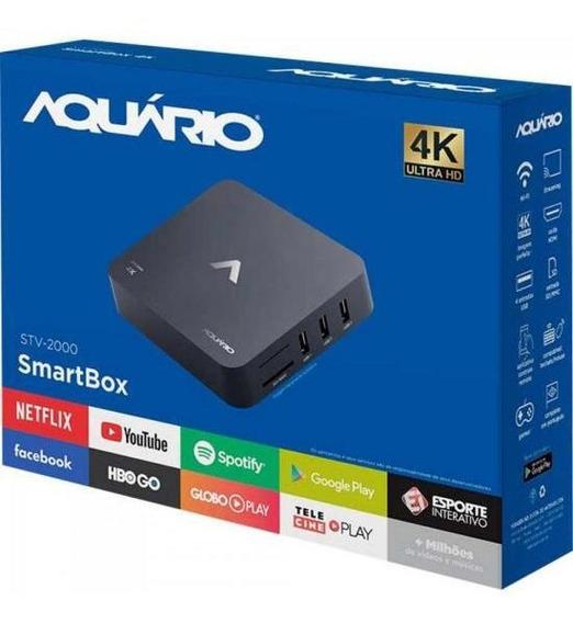 Smart Tv Box Android Stv-2000 Aquario Nfe Frete Gratis