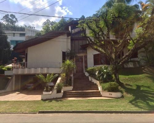 Linda Casa De Alto Padrão No Condomínio Tamboré 1 - 544 - 67734248