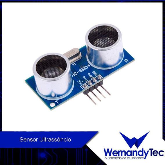 Sensor De Distância Ultrassônico Hcsr04 Arduino
