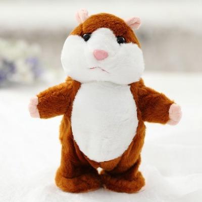 Hamster Falante Fala & Anda - Brinquedo Engraçado Divertido