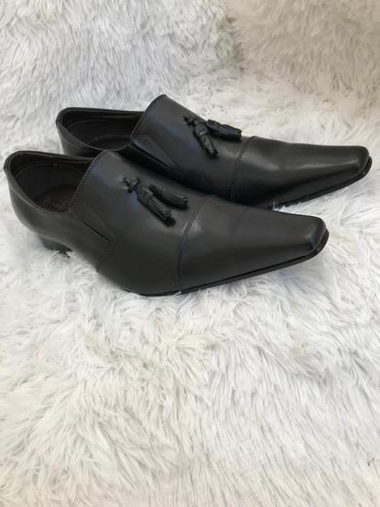 Sapatos Para Homens De Estilo (produzido Em Couro Legítimo)
