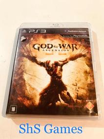 God Of War Ascension Ps3 Mídia Física