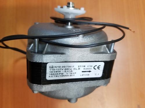 Motor Ventilador De 10w Marca Elco