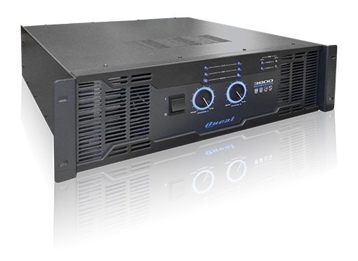 Amplificador Oneal 3800 Pro 3200 W Nbr Profissional